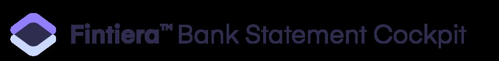 Fintiera Bank Statement cockpit