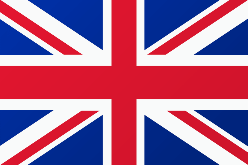 flaga język angielski
